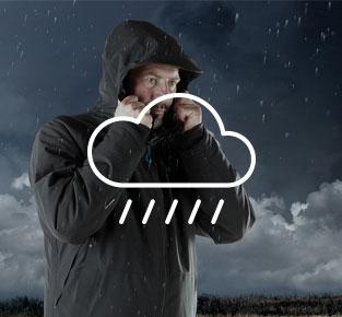Werkkleding voor regenachtig weer